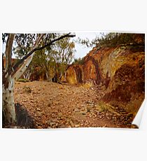 Ochre Pits - The West Macs NT Poster