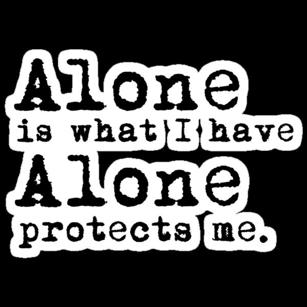 Alone by StarGleekPotter