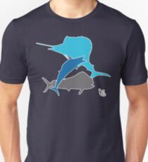 Offshore fishing Unisex T-Shirt