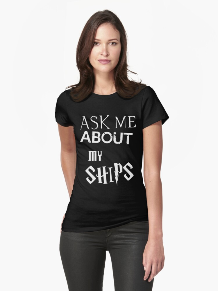 Ask about my ships multifandom shirt by CharlotteTardis