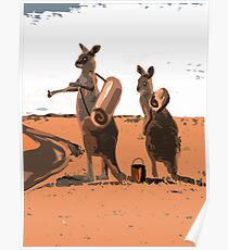 AUSSIE HIKERS Poster