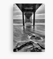 Brighton Jetty B&W Canvas Print