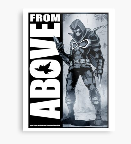 From Above Comic Book 05 Metal Print