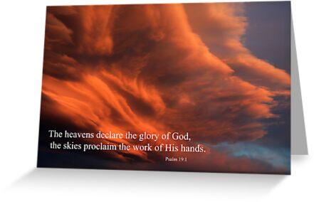 Psalm 19:1 by James Eddy