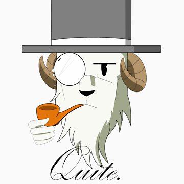 Gentleman Goat by DJNightmar3