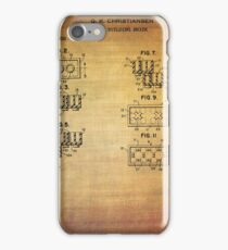 Lego Blocks Patent from 1961 iPhone Case/Skin
