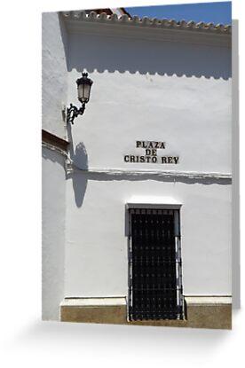 Plaza De Cristo Rey, Carmona by wiggyofipswich