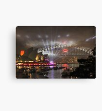 The New Year Begins! Canvas Print