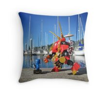 Summer mech (1 of 3) Throw Pillow