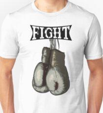 Fight - Vintage Boxing Gloves  v2 Unisex T-Shirt