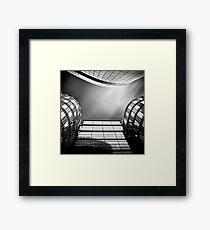 Sky Plaza Framed Print