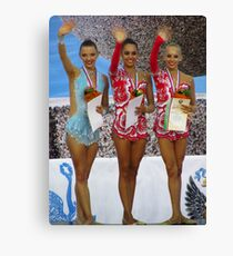 Rhythmic Gymnastics World Cup Winners Canvas Print