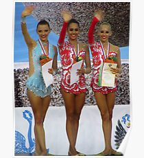 Rhythmic Gymnastics World Cup Winners Poster