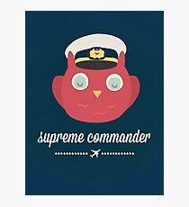 Supreme Commander  Photographic Print