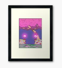 Eight Realms Background #3... Framed Print