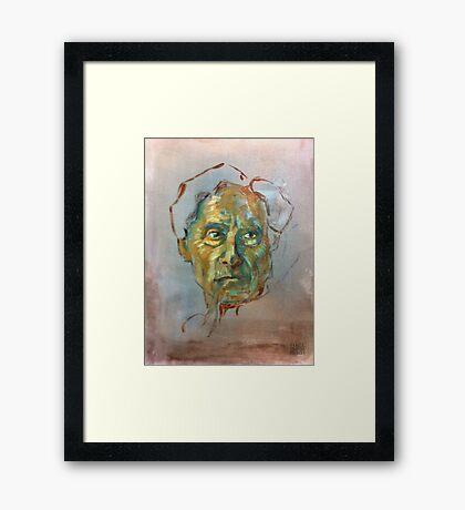 Bertrand Russell (Sketch) Framed Print