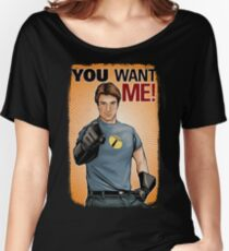 Captain Hammer - You Want Me Women's Relaxed Fit T-Shirt