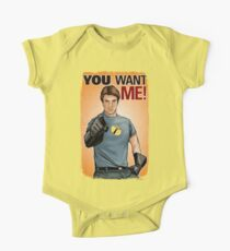 Captain Hammer - You Want Me One Piece - Short Sleeve