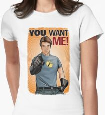 Captain Hammer - You Want Me Womens Fitted T-Shirt