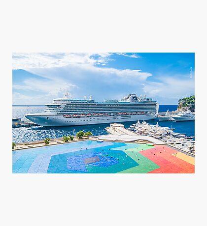 Monte Carlo Coast Photographic Print