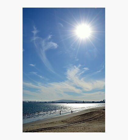 Sunny Beach Day Photographic Print