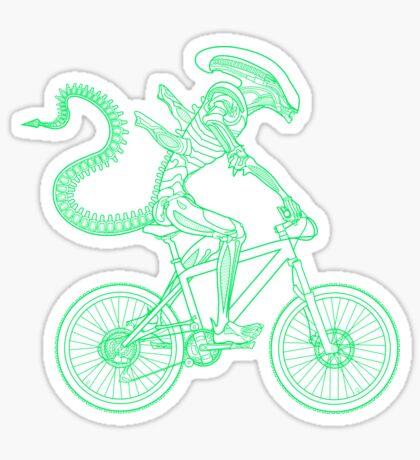 Alien Ride Sticker