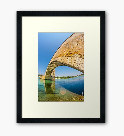 Saint-Bénezet Bridge Framed Print