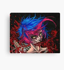 ZOMBIE PRINCESS Canvas Print
