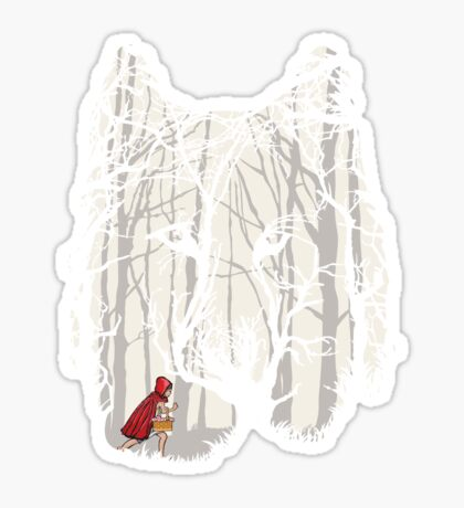 Little Red Sticker
