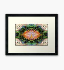 'Into The Dharma' Framed Print