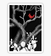 The return of the Cardinal  Sticker
