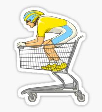 Retail Racer Sticker