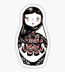 Inuit Matryoshka Sticker
