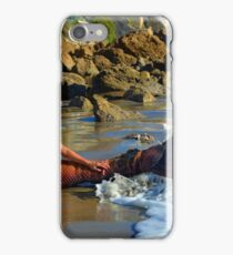 Flippin' Her Fins - Long iPhone Case/Skin