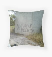 Anonymous We Are Legion Throw Pillow