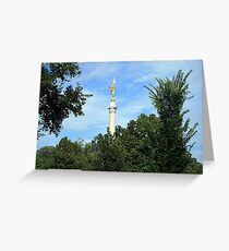 First Division Monument Greeting Card