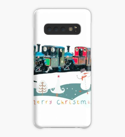 Happy Christmas for train lovers  Case/Skin for Samsung Galaxy