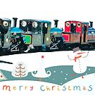 Happy Christmas for train lovers  by bywhacky
