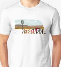Nebraska Windmill Unisex T-Shirt