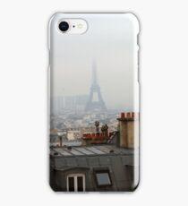 Cloudy day in Paris iPhone Case/Skin
