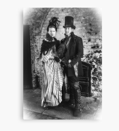 Victorian Couple Canvas Print