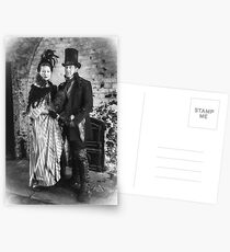 Victorian Couple Postcards