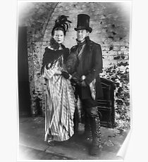 Victorian Couple Poster