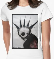 Punk Macabre Women's Fitted T-Shirt
