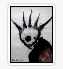 Punk Macabre Sticker
