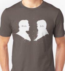 B*tch & Jerk (White) T-Shirt