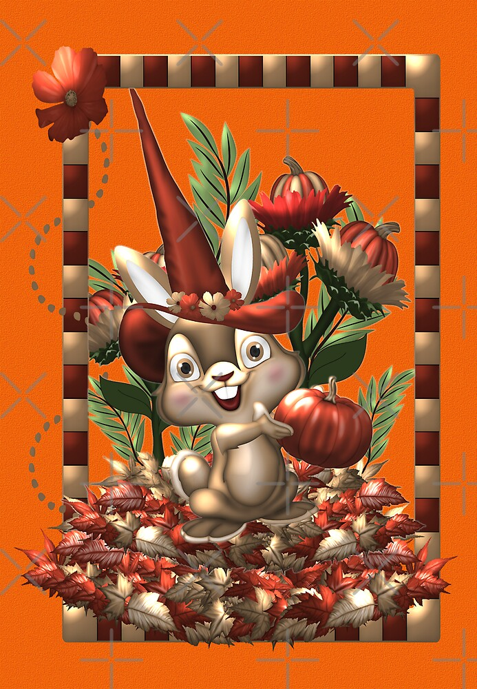 Happy Halloween Rabbit by LoneAngel
