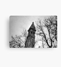 Just Another Leaning Tower - Lomo Canvas Print