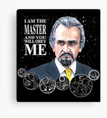 The Master (Roger Delgado) Canvas Print
