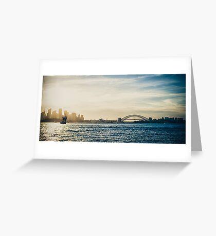 Sydney Tall Ship Greeting Card